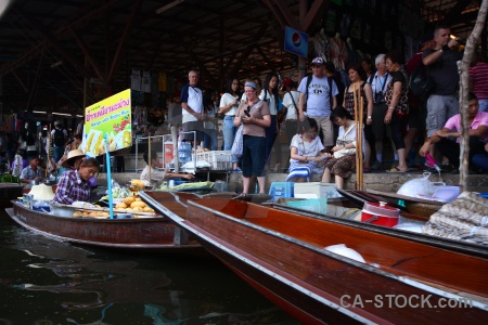 Ton khem boat water vehicle thailand.