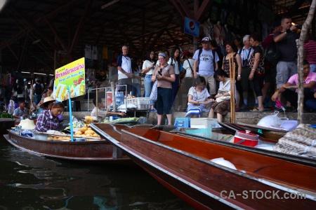 Ton khem boat water vehicle thailand.