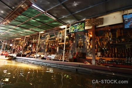 Ton khem canal asia thailand water.