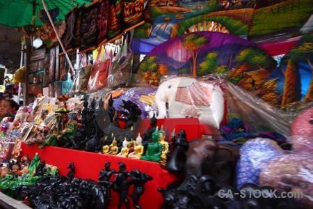 Ton khem damnoen saduak market thailand southeast asia.