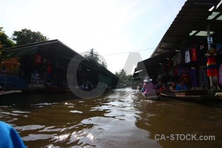Ton khem floating sky thailand canal.