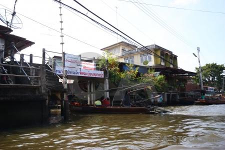 Ton khem thailand southeast asia market building.