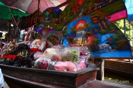 Ton khem thailand southeast asia umbrella water.