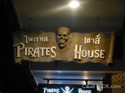 Tonsai island thailand phi pirate.