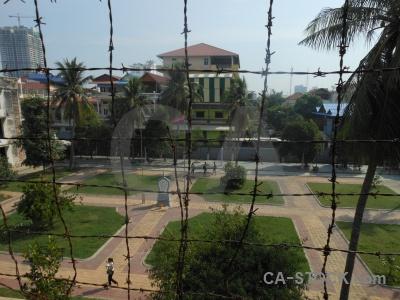 Torture building tree khmer rouge phnom penh.