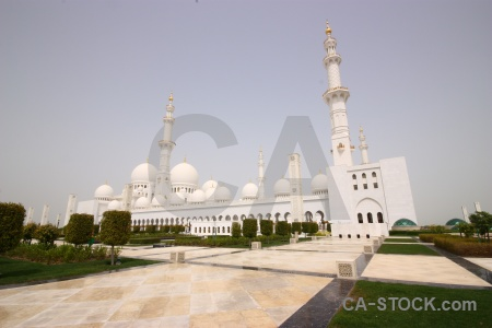 Tower abu dhabi building mosque grand.