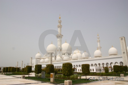 Tower asia sheikh zayed uae dome.