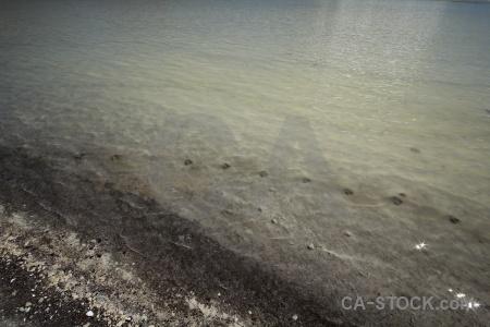 Track landscape laguna honda andes lake.
