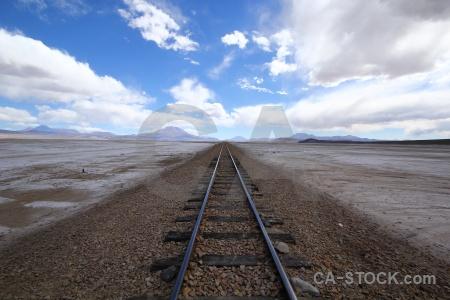 Track sky altitude volcano andes.