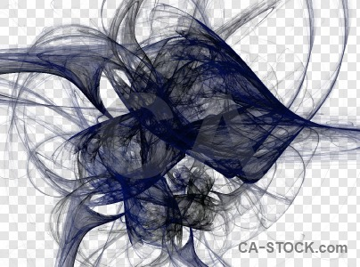 Transparent abstract fractal.