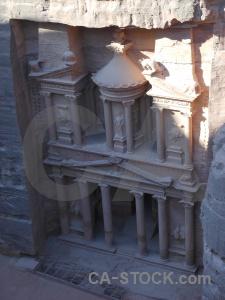 Treasury jordan pillar historic carving.