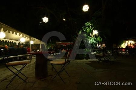 Tree night kathmandu nepal restaurant.