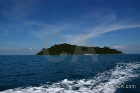 Tree phi island ko mai phai bamboo sky.