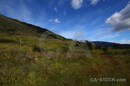Trek landscape south america chile cloud.