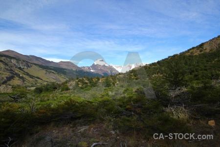 Trek snowcap argentina sky patagonia.