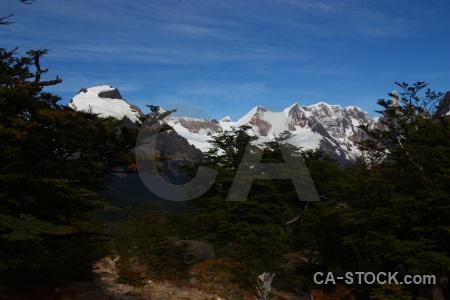 Trek southern patagonian ice field el chalten senda a laguna torre mountain.