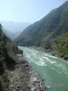 Trishuli river prithvi nepal mountain sky.