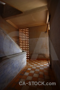 Tuol sleng genocide museum asia chequered s 21 security prison.
