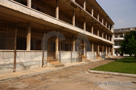 Tuol sleng genocide museum cambodia sky phnom penh security prison 21.