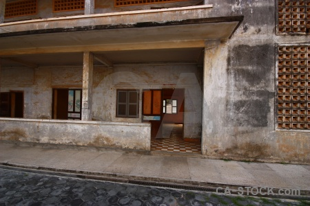 Tuol sleng genocide museum southeast asia security prison 21 cambodia s.
