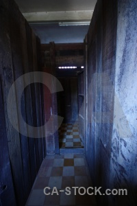 Tuol sleng security prison 21 cell genocide museum southeast asia.