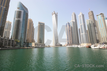 Uae building canal western asia water.