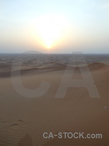 Uae dubai desert sun middle east.