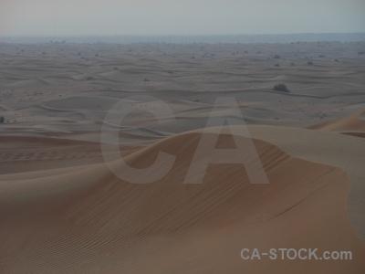 Uae dune western asia dubai middle east.