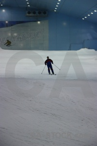 Uae inside snow skiing middle east.