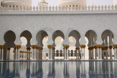 Uae muslim asia building abu dhabi.