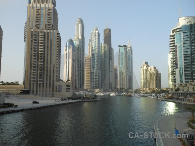 Uae water asia building canal.