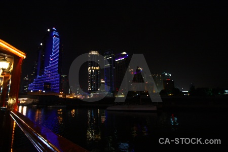 Uae water building asia canal.