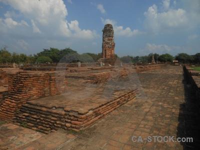 Unesco asia ayutthaya sky thailand.