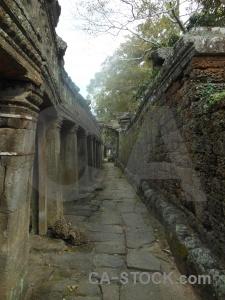 Unesco buddhist buddhism column stone.