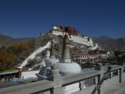 Unesco building altitude potala palace monastery.