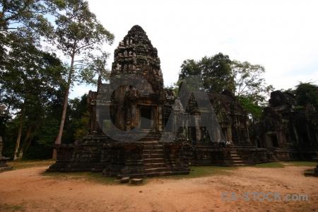 Unesco cambodia step sand buddhist.