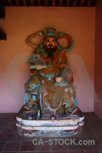 Unesco hue statue southeast asia god.