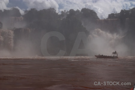 Unesco iguassu falls vehicle spray iguazu.