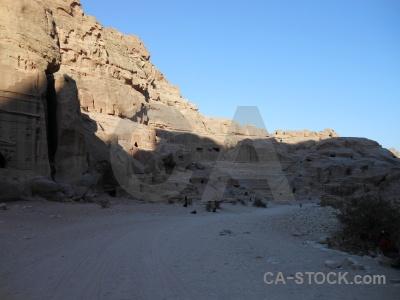 Unesco jordan western asia rock historic.
