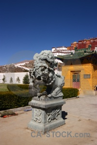 Unesco lion east asia lhasa buddhism.