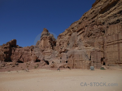 Unesco middle east historic jordan carving.