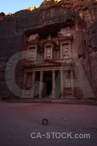 Unesco nabataeans historic archaeological treasury.