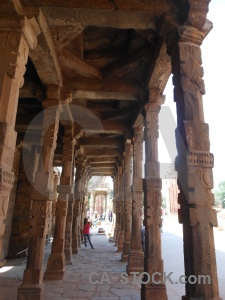 Unesco pillar qutub minar south asia india.