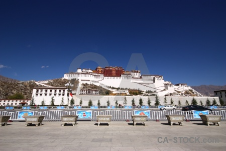 Unesco potala palace sky asia buddhist.