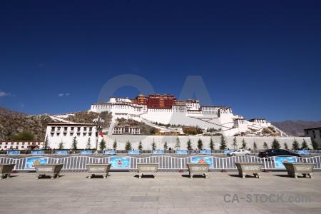 Unesco potala palace sky asia buddhist.