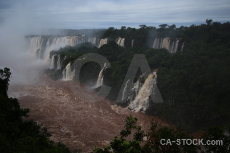 Unesco river water brazil iguazu.