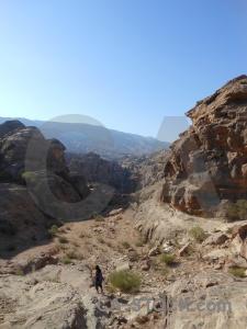 Unesco rock historic petra archaeological.