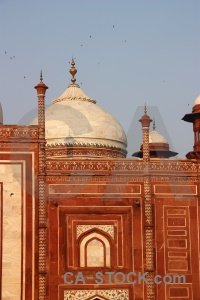 Unesco shah jahan palace mausoleum sky.