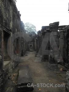 Unesco siem reap buddhist ruin asia.