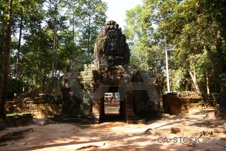 Unesco siem reap ruin stone buddhism.